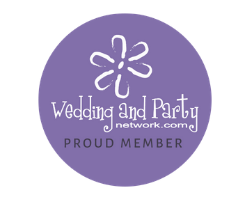 Proud wedding and party network member